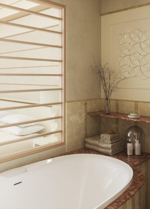Deluxe Junior Suite Bathtub