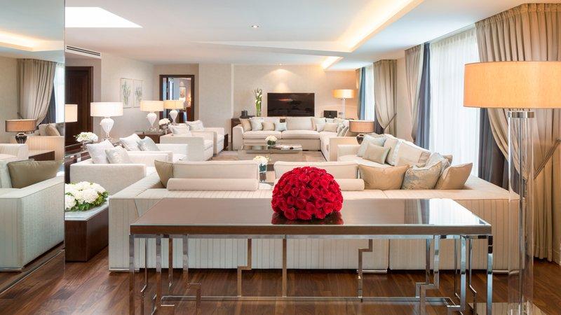 Royal Suite Living Area Breidenbacher Hof
