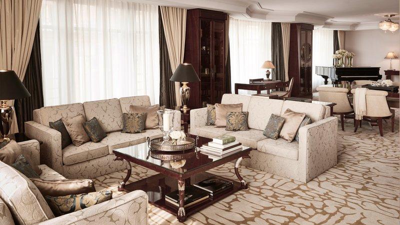 Presidential Suite Living Area Breidenbacher Hof