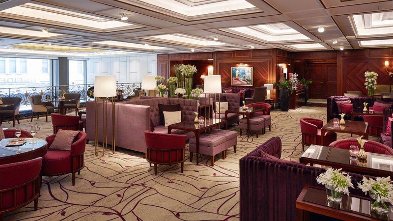Lobby Lounge Best Afternoon Tea Coffe And Cake Shopping Break Breidenbacher Hof