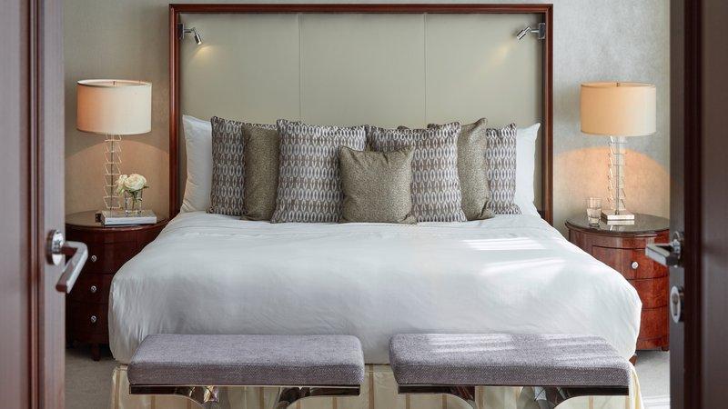 Grand Suite Bedroom Breidenbacher Hof