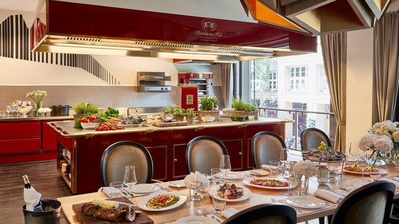 Dining Venue Show Kitchen Breidenbacher Hof