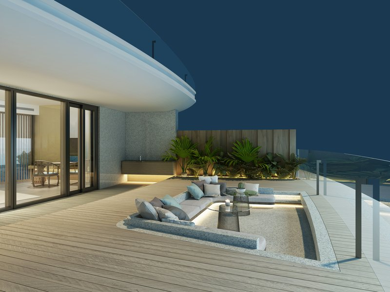 Luxury King with Bubble Pool Terrace
