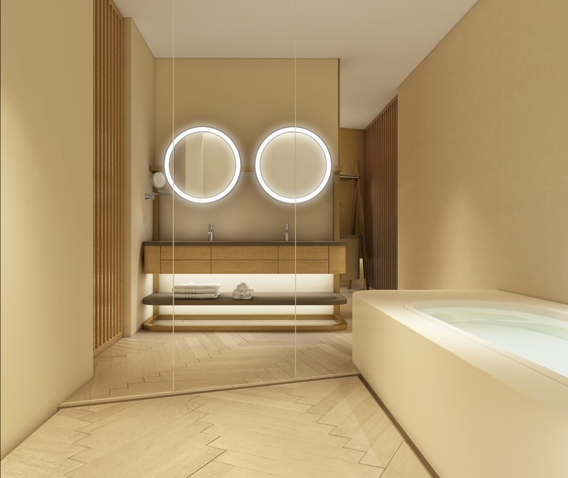 Luxury King Bathroom