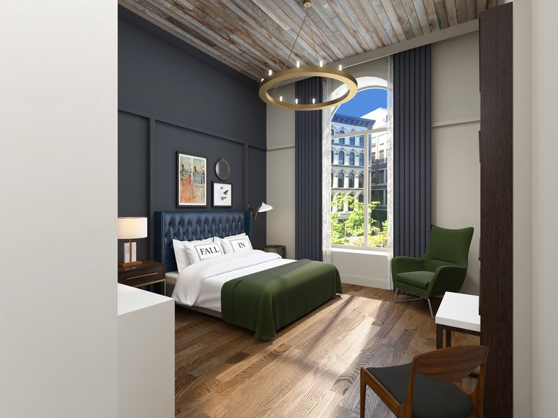 The Grady Bedroom