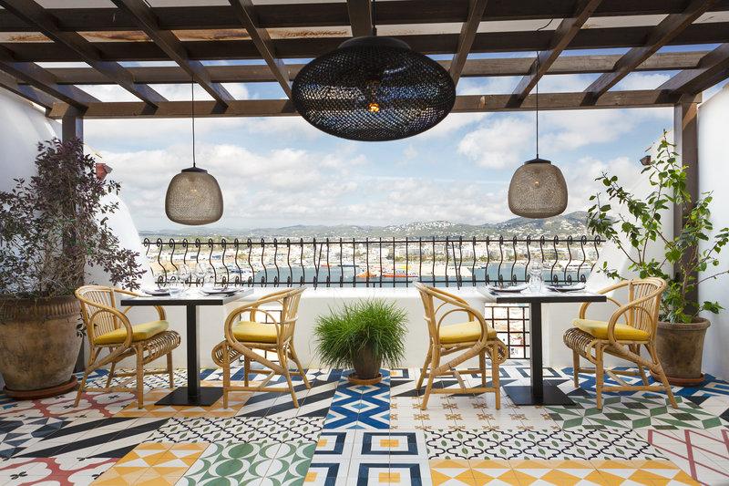 Corsario Restaurant Terrace