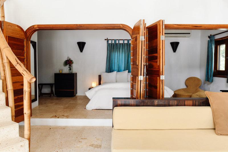 Seafront Luxury Villa Ground Floor Bedroom