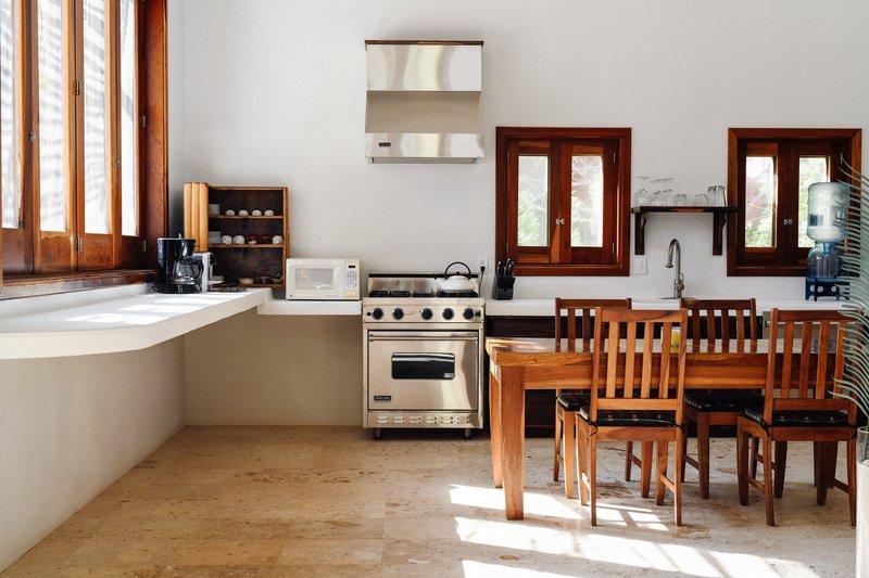 Seafront Luxury Villa Kitchen