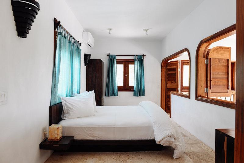 Seafront Luxury Villa Upstairs Bedroom