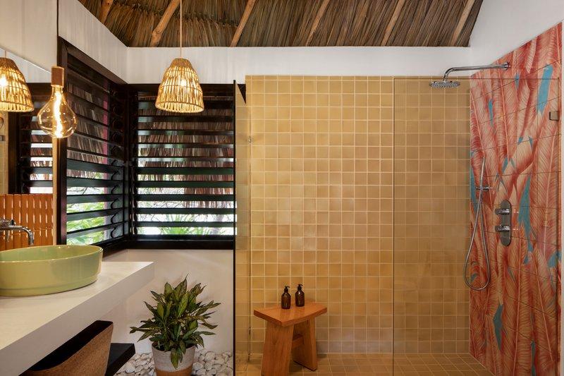 Matachica Seaview Beach Cabana Bathroom