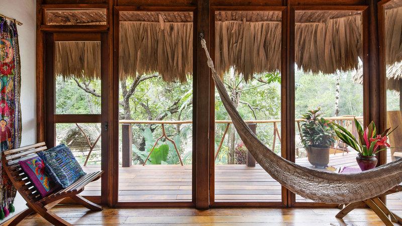 Gaïa Riverside Villa Bedroom Seating Area