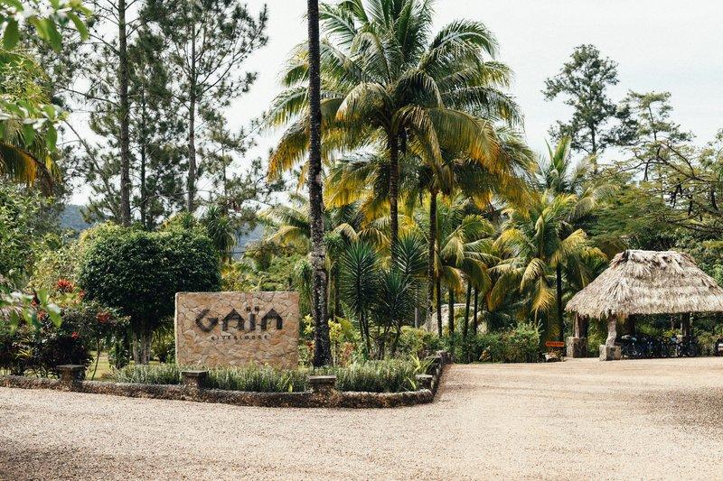 Gaïa Resort Entrance