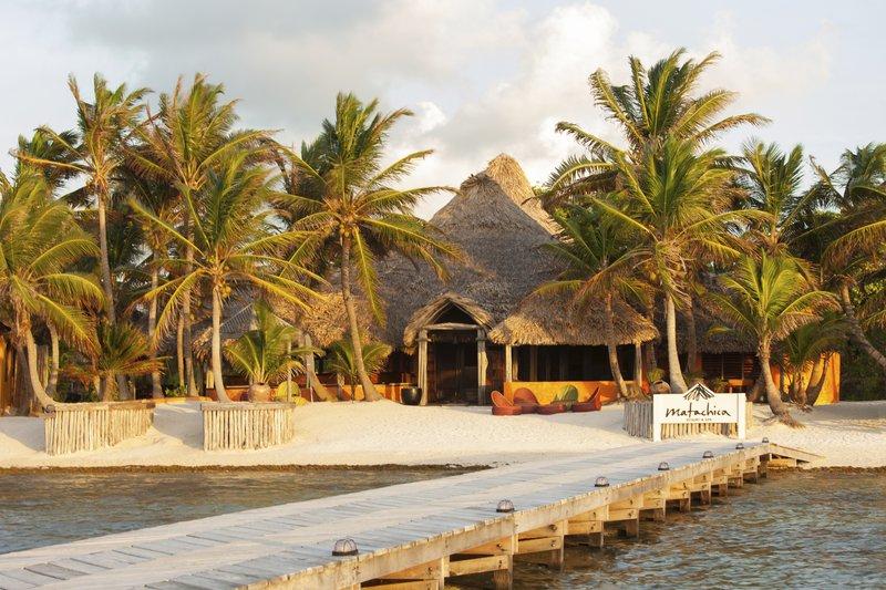 Matachica Resort Beachside Entrance