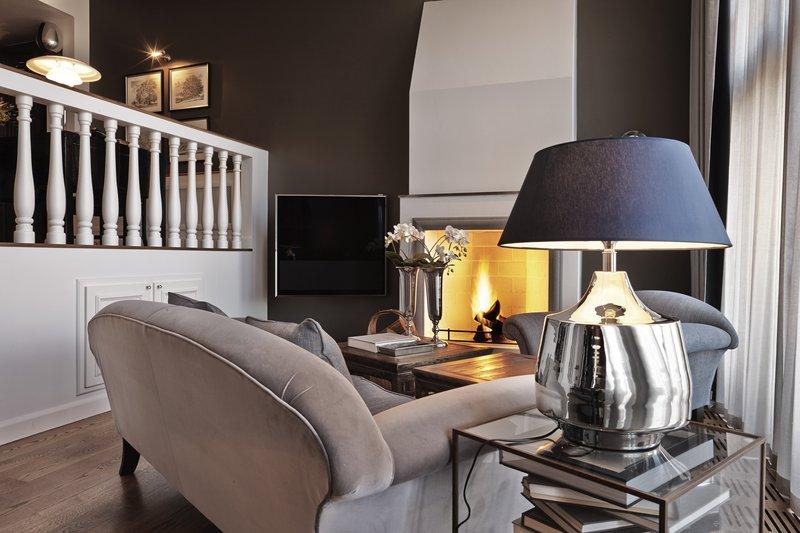 Executive Suite Fireplace