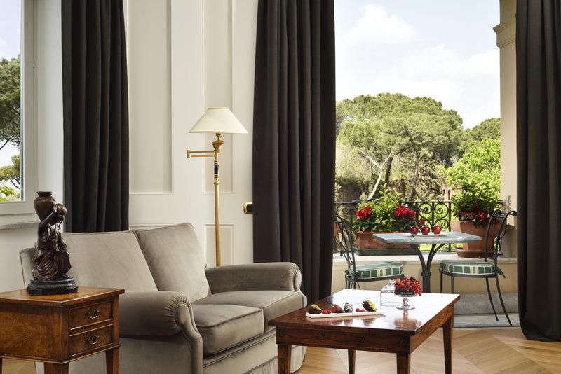 Junior Suite Terrace Living