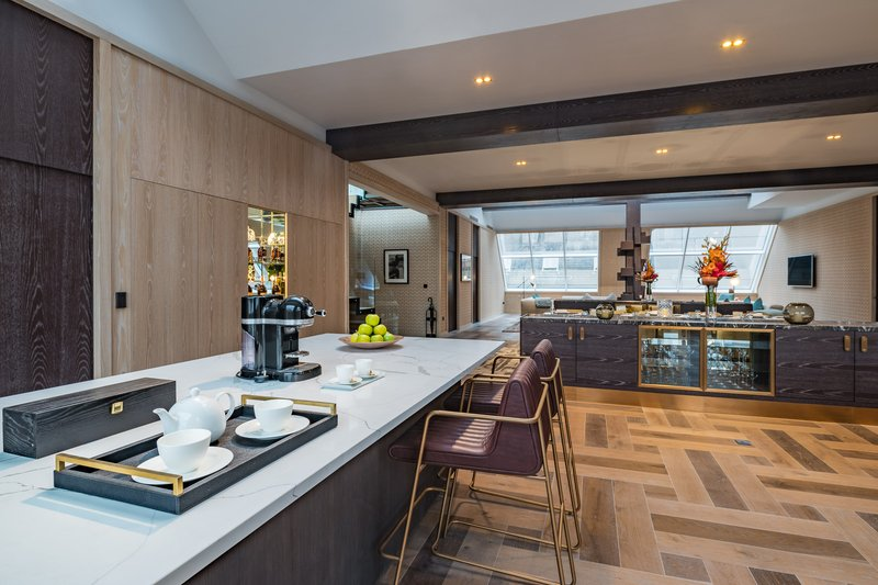 The House Kitchenette