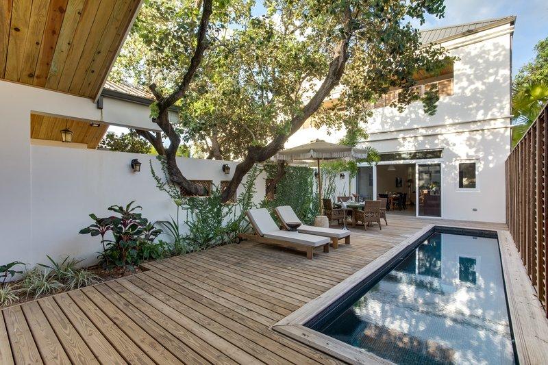 2 Bedroom Villa Deck & Lap Pool