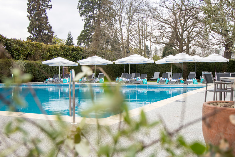 Outdoor Heated Swimming Pool at Great Fosters
