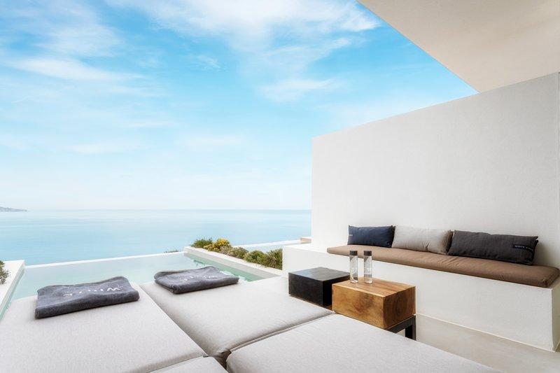 Premium Deluxe Suite Private Pool Panoramic Sea View