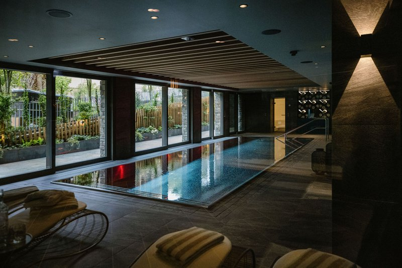 Fire Ice SPA Indoor Pool