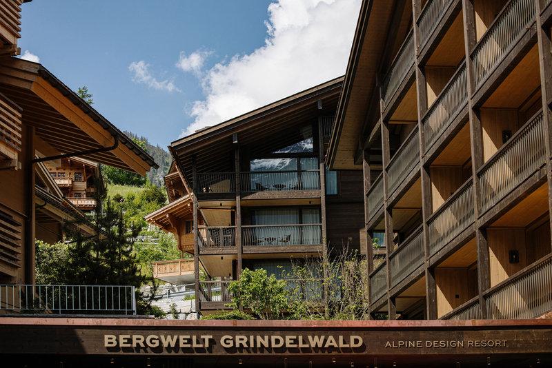 Bergwelt Grindelwald Aussenaufnahme