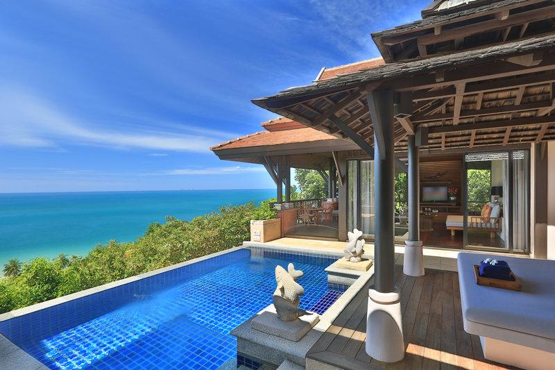 Hillside Ocean View Private Pool Villa Two Bedroom