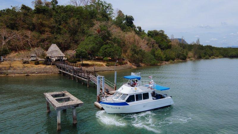 Boat At Hua Hin Jetty