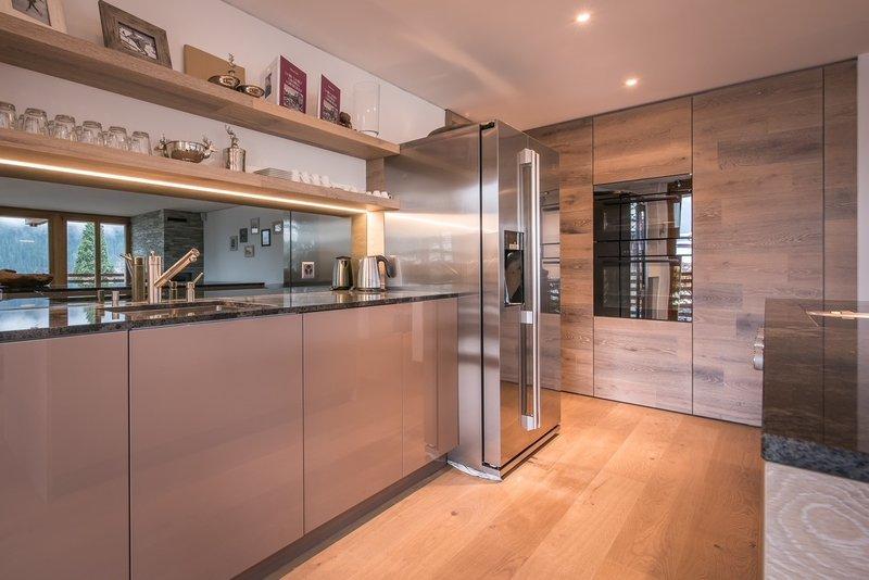 Bergwelt Residence Kitchen