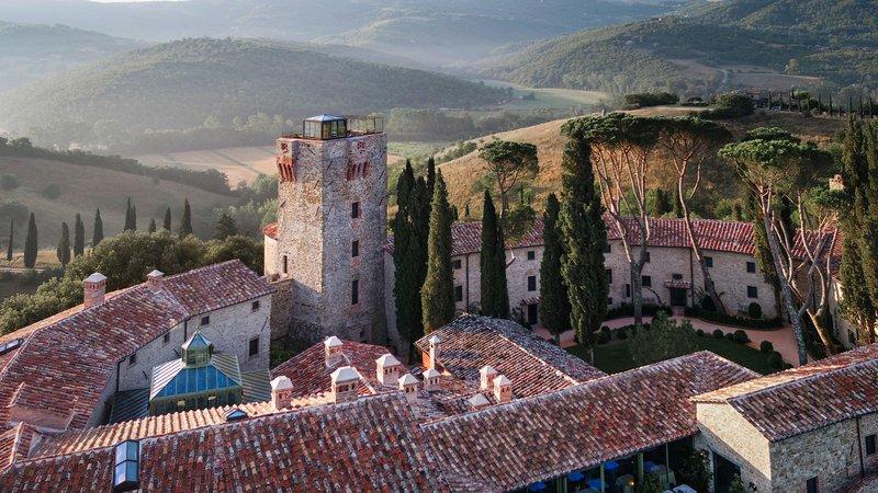 Aerial View - Hotel Castello di Reschio