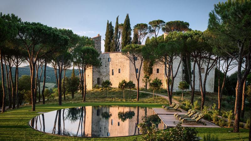 The Swimming Pool - Hotel Castello di Reschio