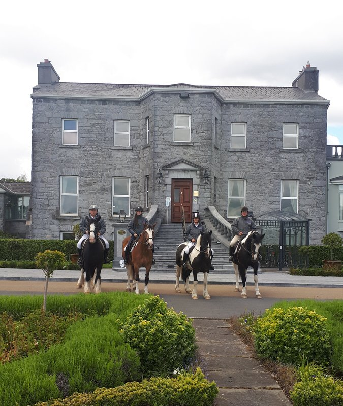 Horse Riding On Site