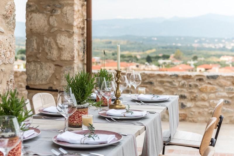 Leoncini Outdoor Dining Area
