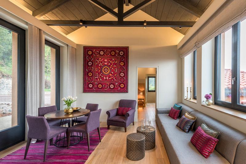 Byzantium Suite Living Area