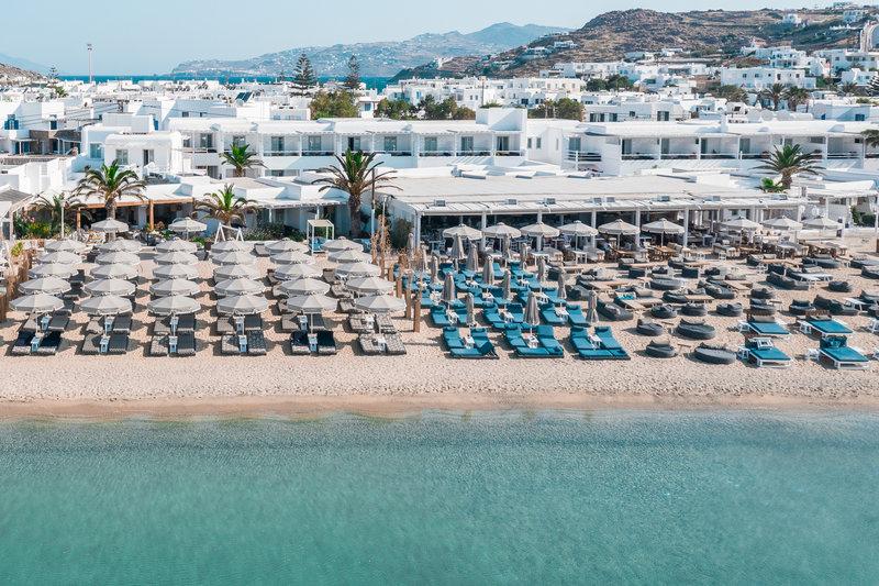 Mykonos Ammos Beachfront Luxury Hotel