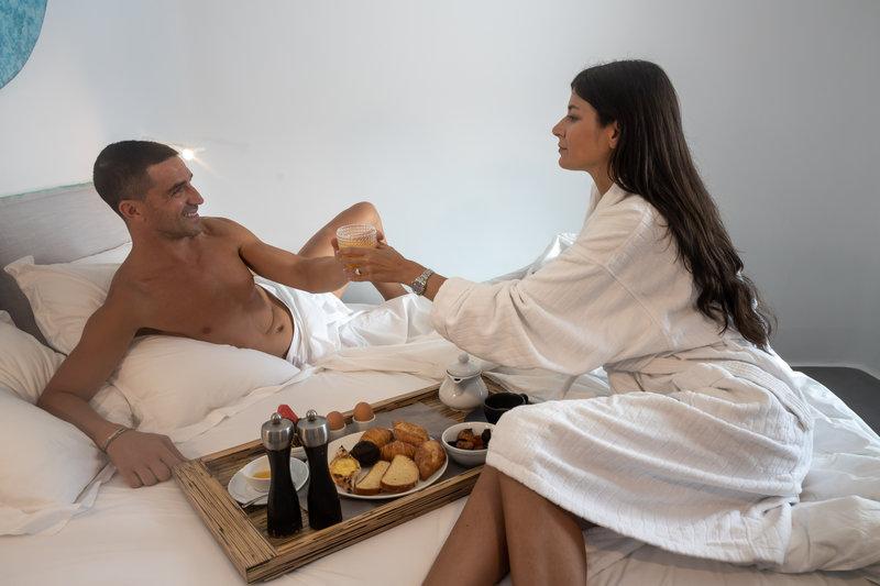Ammos Breakfast at Bed