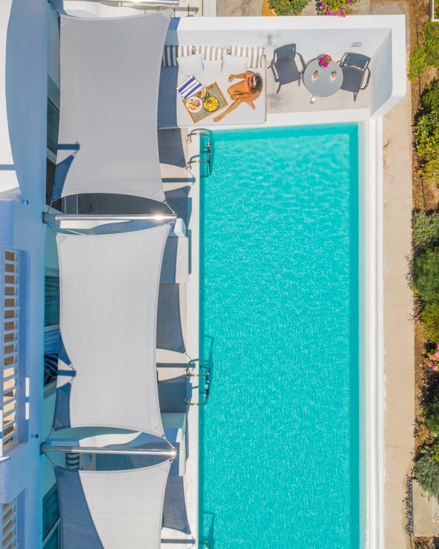 Junior Suite Pool View Aerial