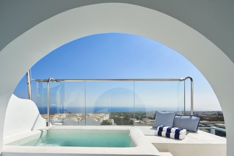Sea View Suite Hot Tub Balcony View
