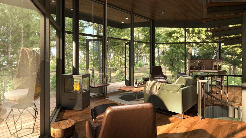 Tree Haus Interior