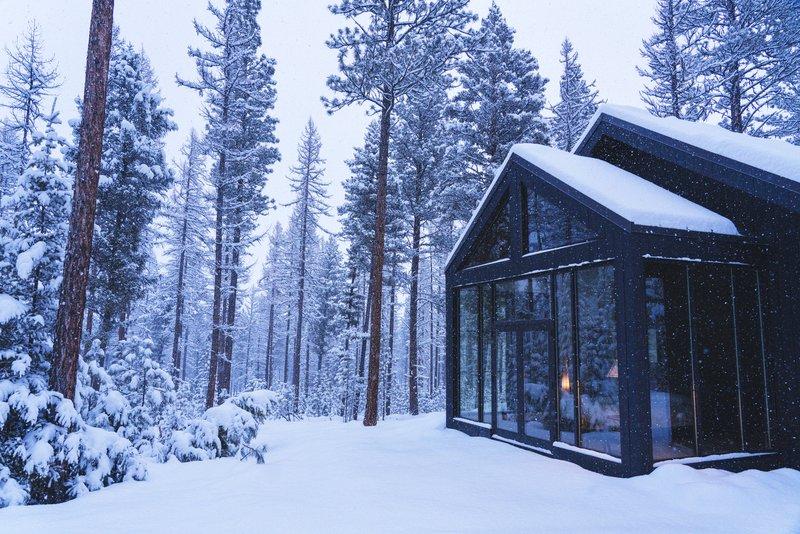Light Haus Winter Exterior