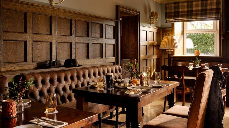Oak Cellar Lounge Glenlo Abbey Hotel