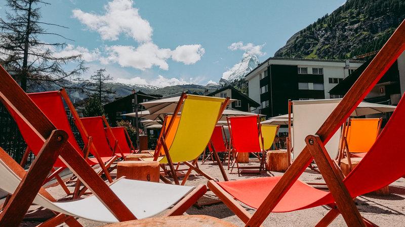 The Beach Bar Zermatt