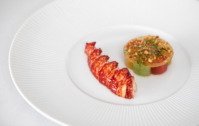 Poached Native Lobster