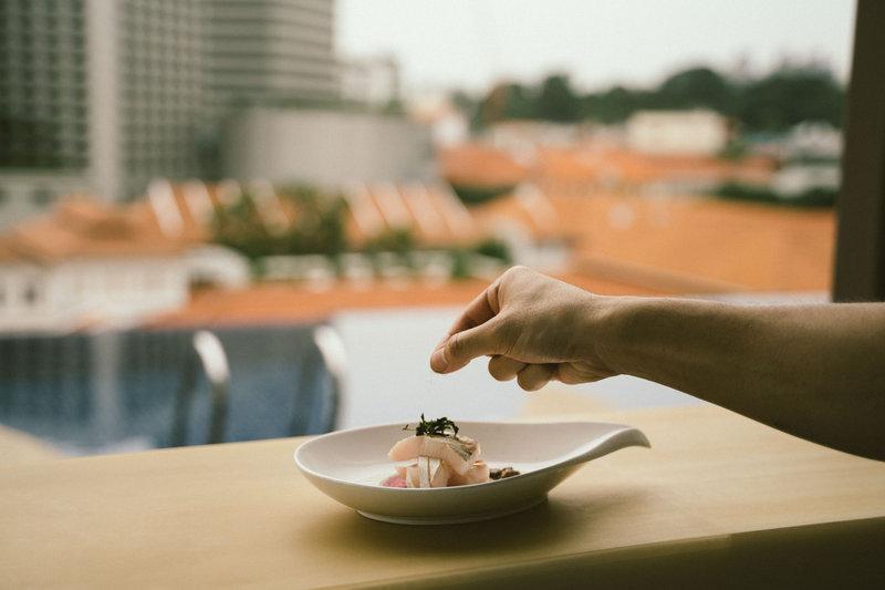 Florian Restaurant Sarde In Saor Rooftop