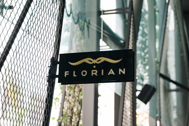 Florian Signage By Day
