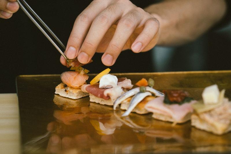Florian Restaurant Seasonal Menu Cichetti Platter