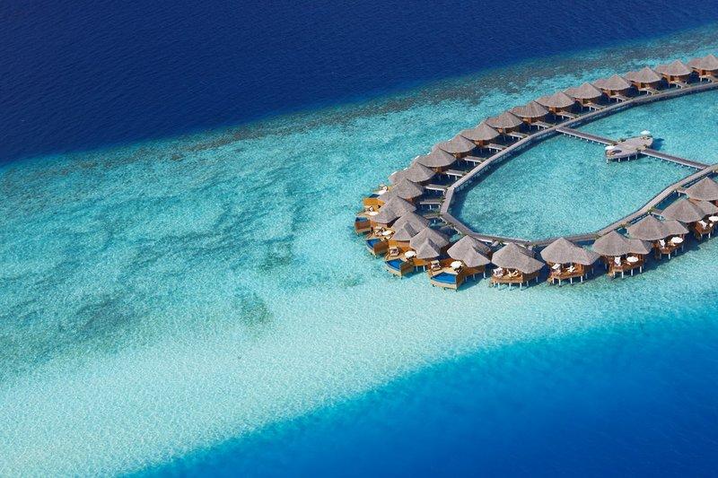 Water Villas  Aerial