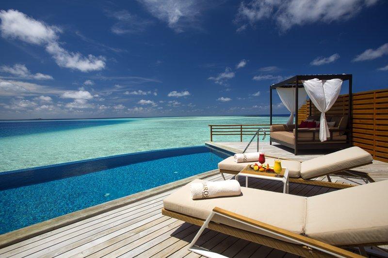 Water Pool Villa Deck