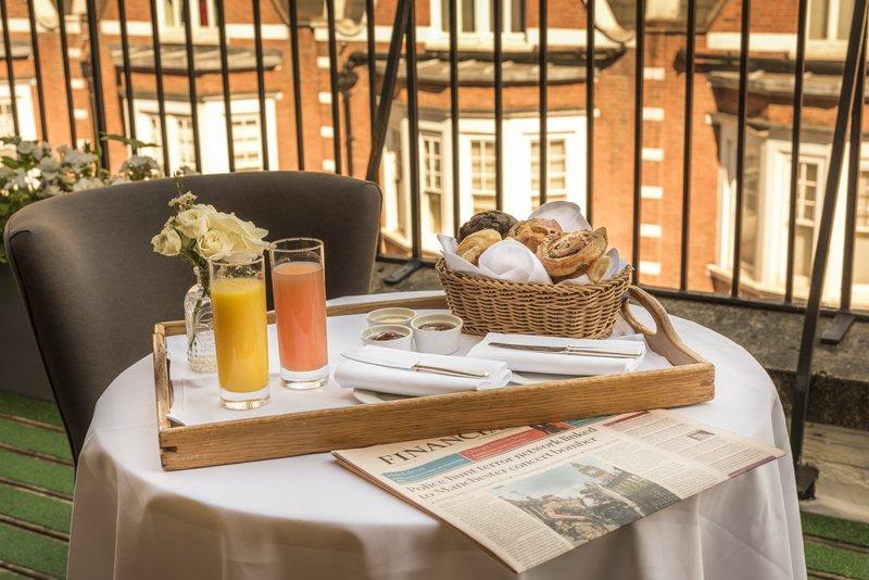 Penthouse Terrace Breakfast